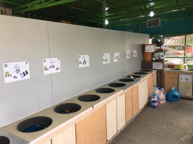How and where to recycle in amman my amman life for Household waste recycling centre design