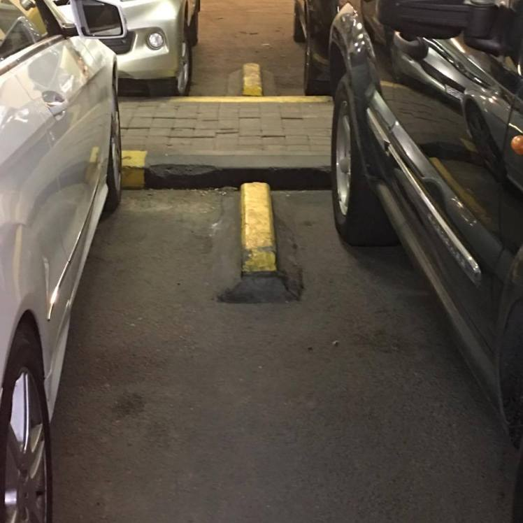 parking spacer amman
