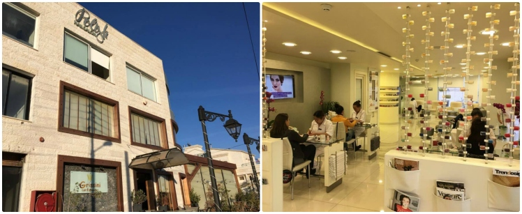 polish nail salon amman