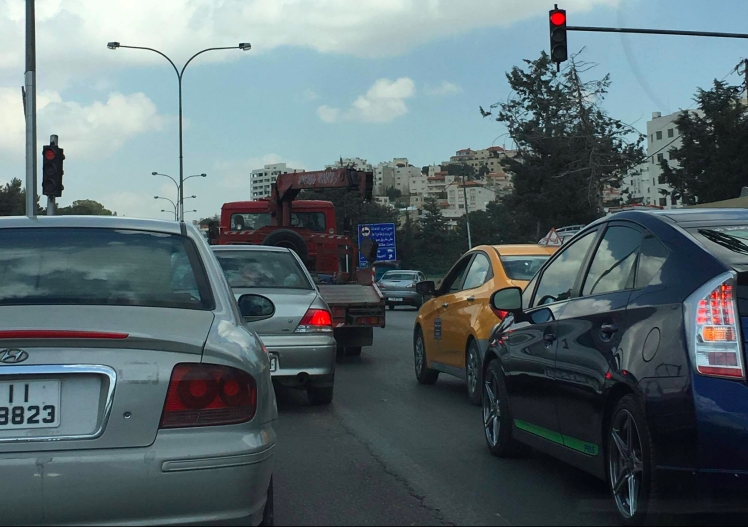 bad driving turns amman