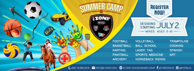 summer camp at the zone amman