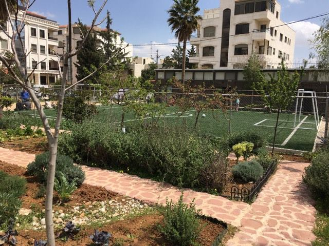 nour al barakah facilities soccer field and garden
