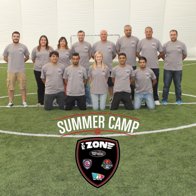 summer camp at the zone staff
