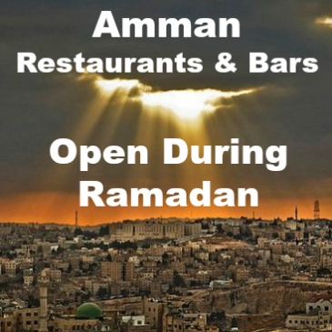 amman ramadan restaurant bars guide