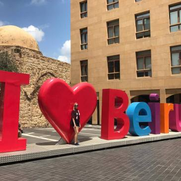 i love beirut sign
