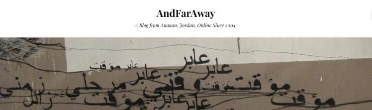 andfaraway amman blog