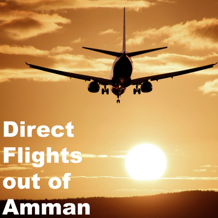 direct flights amman