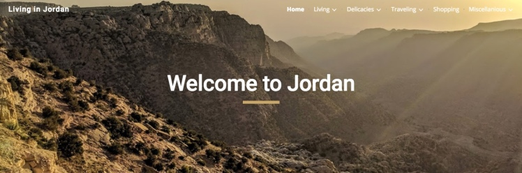 living in jordan blog