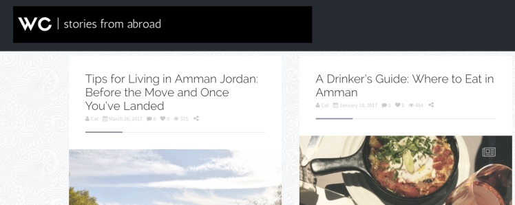 wandering circles amman blog