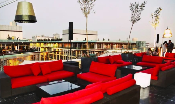 The Deck Lounge amman rotana rooftop