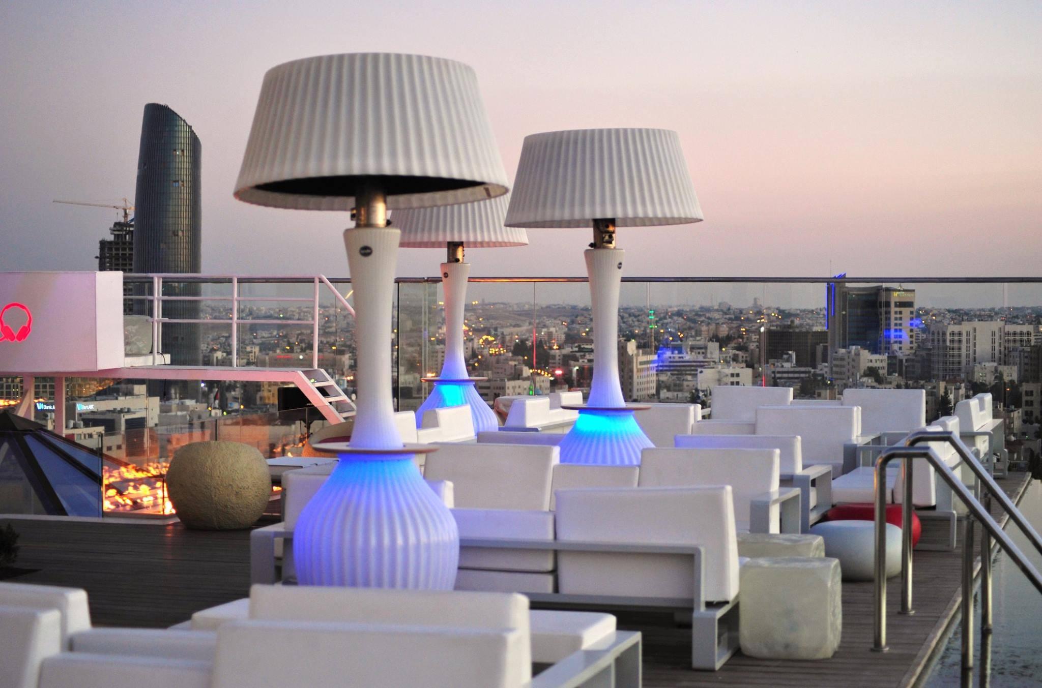 U roof lounge amman rooftop