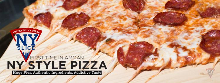 NY style pizza amman