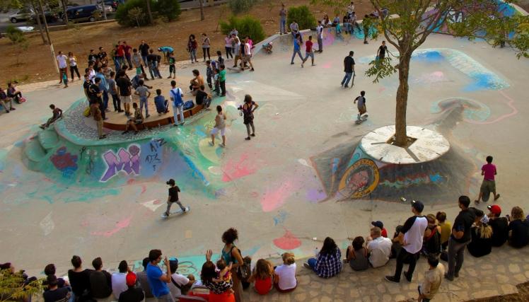 7hills skatepark volunteer amman