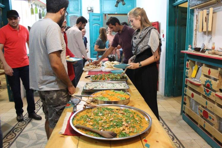 shams community dinner