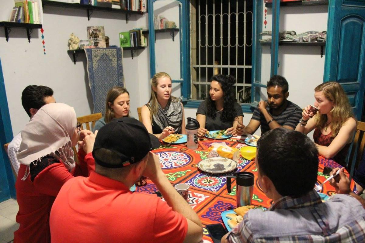 Meet New People Eat Amp Discuss Tough Topics At Shams