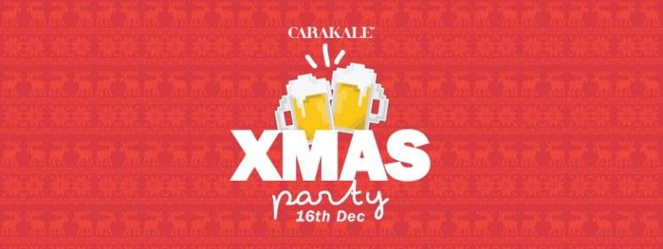 carakale christmas tasting party