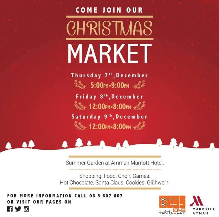 christmas market amman marriott