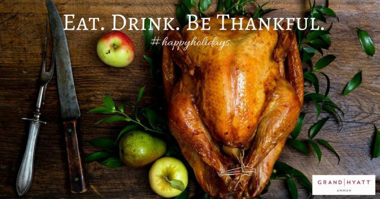 grand hyatt amman thanksgiving