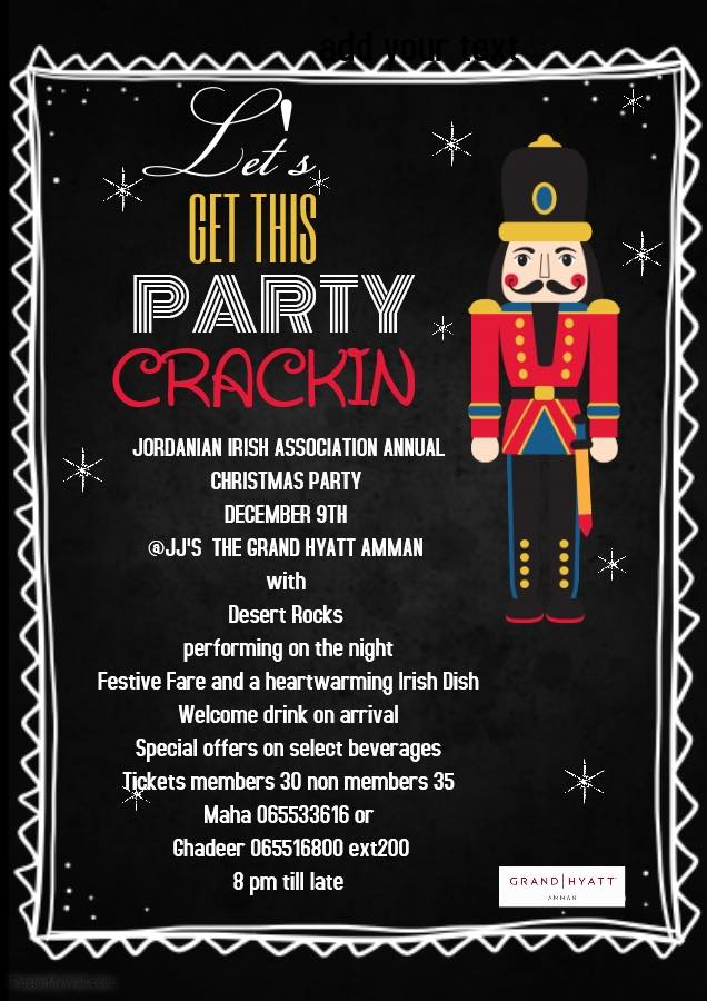 irish christmas party amman