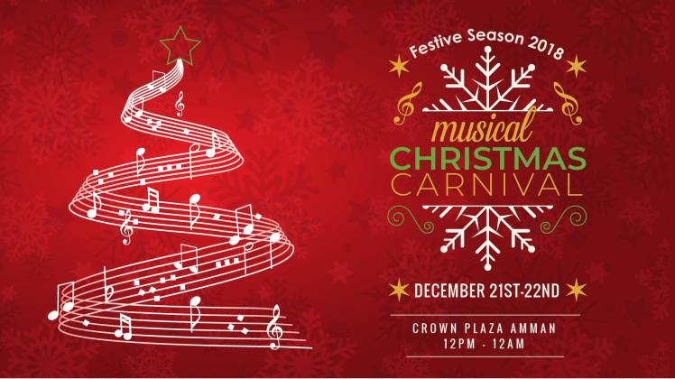 musical christmas carnival amman