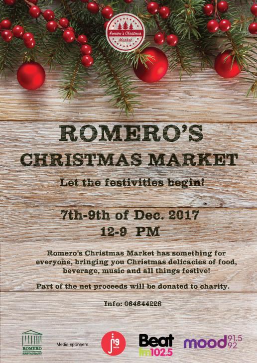 romeros christmas market amman