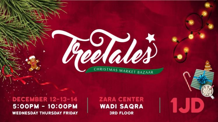 tree tales christmas market bazaar amman
