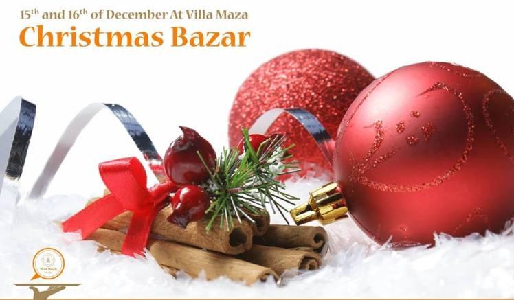 villa maza amman christmas bazaar