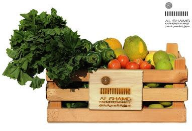 organic fruit veg delivery amman alshams