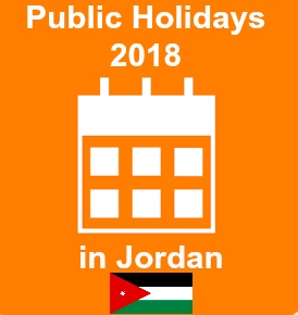 public holidays 2018 jordan