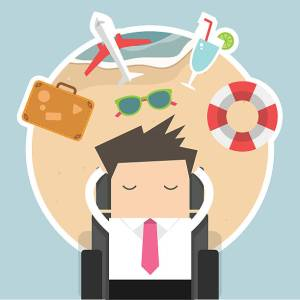 vacation work daydream