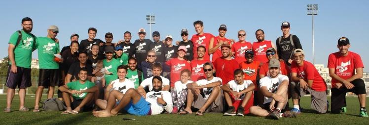 JFDF ultimate frisbee amman jordan