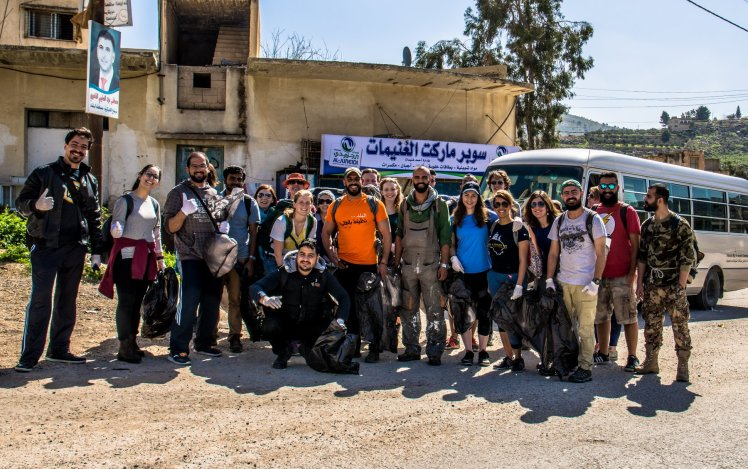 group photo amman eco hikers
