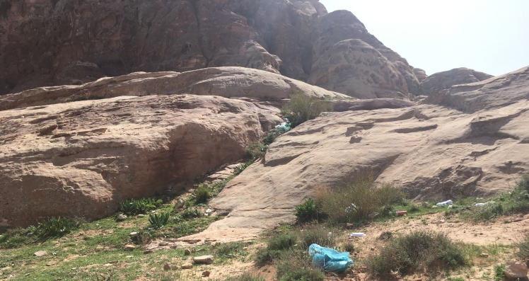 trash plastic bags jordan trail