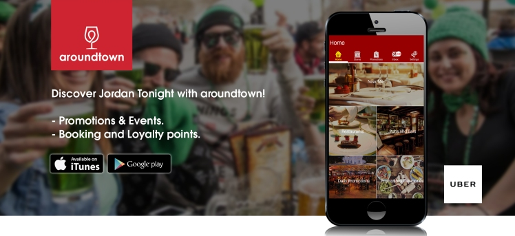 aroundtown app jordan events