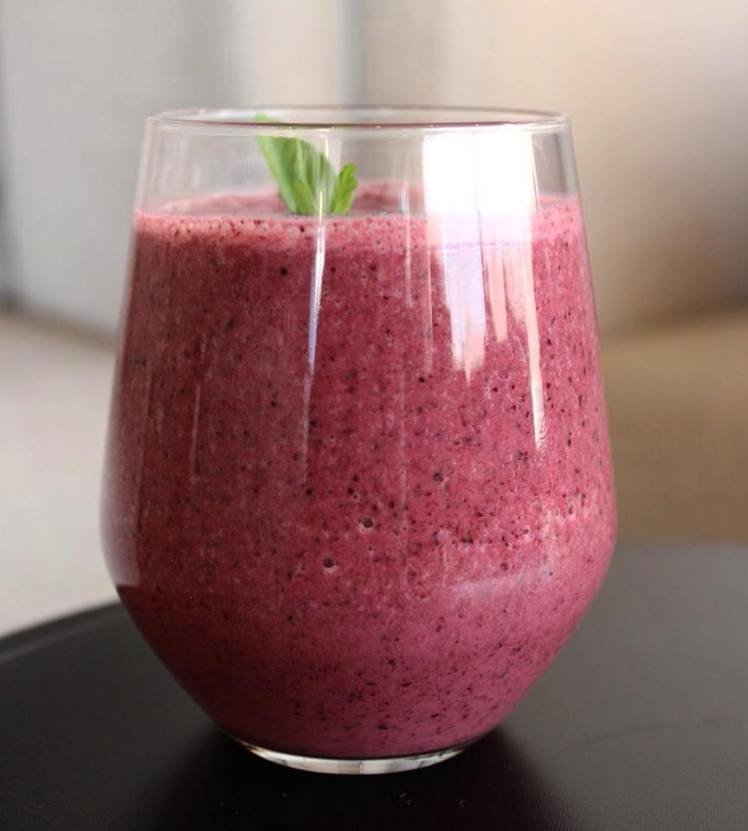 blueberry smoothie mindhub amman