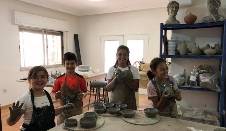 creative art center amman kids pottery