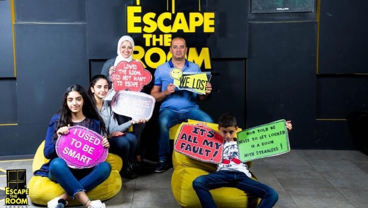 escape the room amman