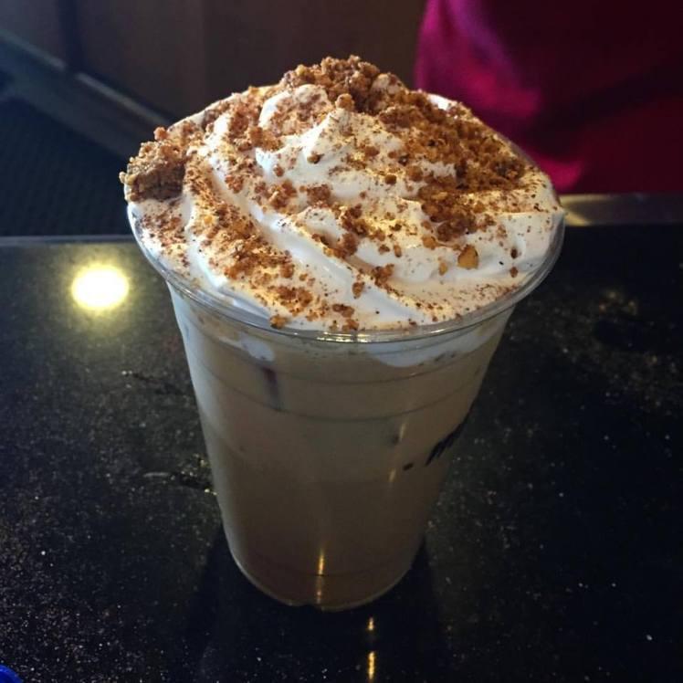 mindhub amman iced pecan coffee