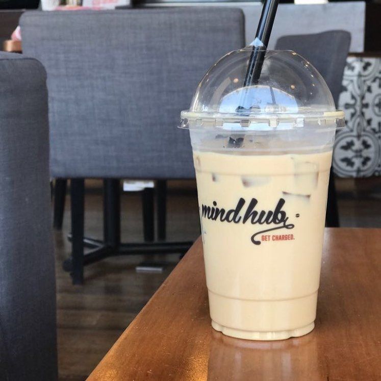 mindhub iced coffee amman