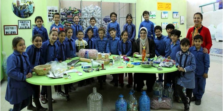 Towards zero waste dahiyat al hussein school jordan