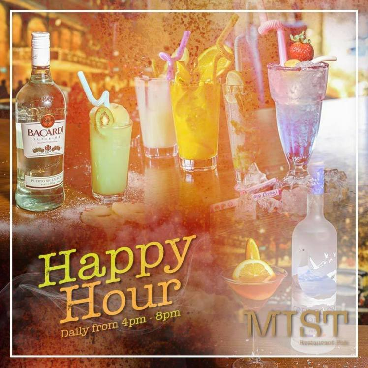 happy hour mist restaurant pub amman