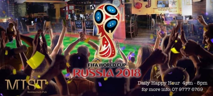 World Cup at MIST Restaurant and Pub