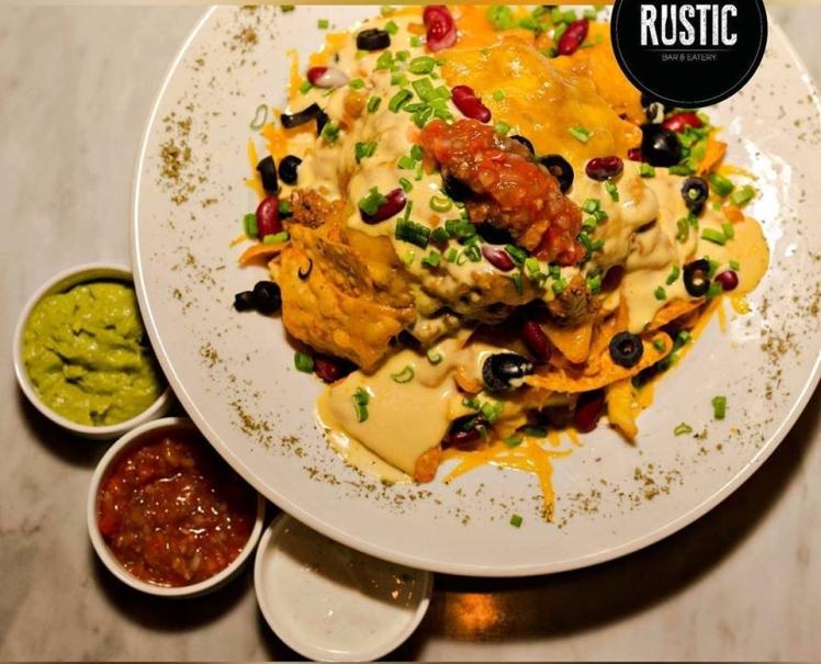 rustic amman nachos