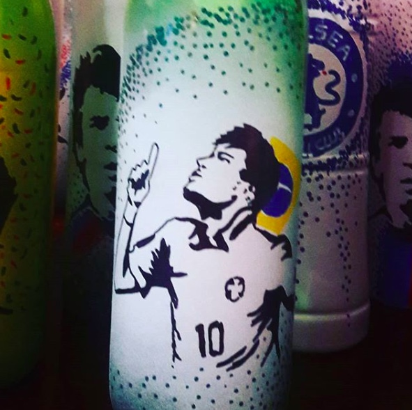 tbottle jordan world cup art work