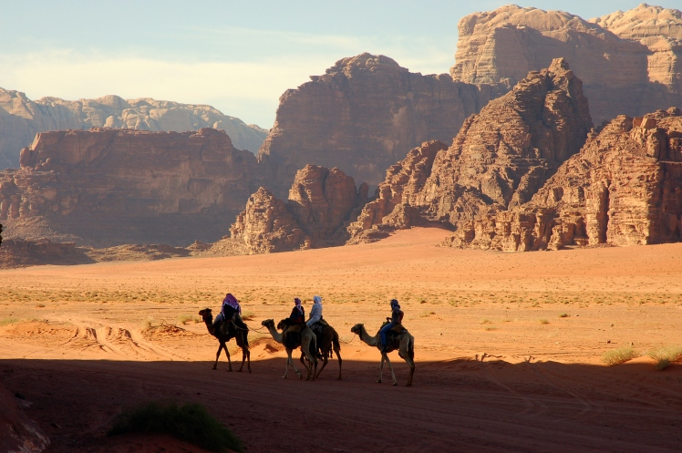bedouins wadi rum jordan