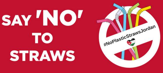 #NoPlasticStrawsJordan