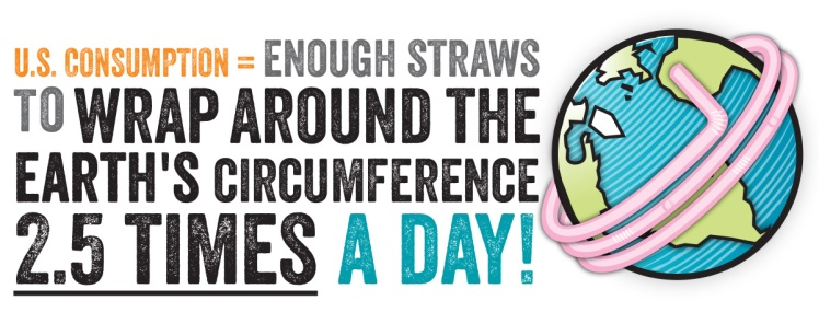 straws consumption usa