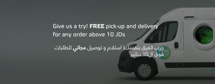 free pick up delivery washywash jordan