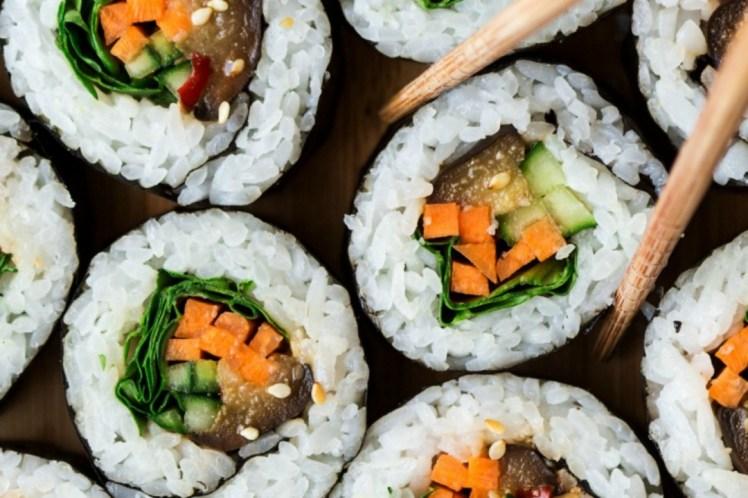 sushi veggie